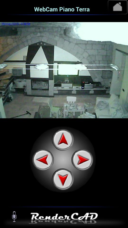 controllo videosorveglianza piano terra
